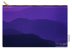 Allegheny Mountain Dawn Carry-all Pouch by Thomas R Fletcher