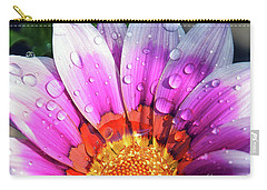 Carry-all Pouch featuring the photograph Beautiful Gazania by Elvira Ladocki