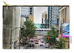 Carry-all Pouch featuring the photograph Charlotte North Carolina Views Around  Downtown by Alex Grichenko