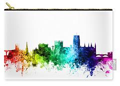 Durham England Skyline Cityscape Carry-all Pouch