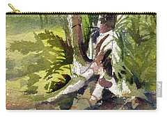 It's A Jungle Out There Carry-all Pouch by Kris Parins