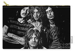 Led Zeppelin Collection Carry-all Pouch by Marvin Blaine