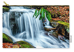 Carry-all Pouch featuring the photograph Little Laurel Branch by Thomas R Fletcher