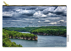 Long Point Summersville Lake Carry-all Pouch by Thomas R Fletcher