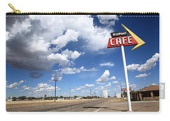 Route 66 Cafe Carry-all Pouch by Frank Romeo