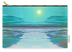 - 938 - Abstract Seascape - 2017  Carry-all Pouch
