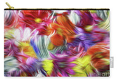 9a Abstract Expressionism Digital Painting Carry-all Pouch