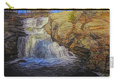 A Beautiful Connecticut Waterfall. Carry-all Pouch