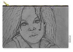 Wistful, The Drawing. Carry-all Pouch