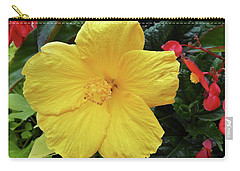 A Beautiful Flower Carry-all Pouch by Vickie G Buccini