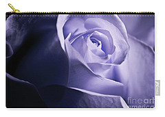 A Beautiful Purple Rose Carry-all Pouch by Micah May
