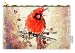 Carry-all Pouch featuring the photograph A Beautiful Thing by Betty LaRue