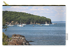 A Beautiful View Of Bar Harbor Carry-all Pouch by Living Color Photography Lorraine Lynch