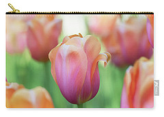 A Bed Of Tulips Is A Feast For The Eyes. Carry-all Pouch