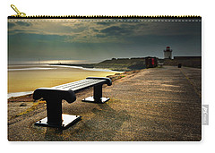 A Bench By The Sea Carry-all Pouch