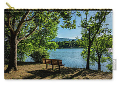 A Bench Overlooking Vasona Lake Carry-all Pouch