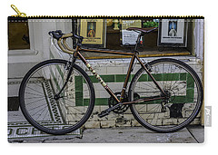 A Bicycle In The French Quarter, New Orleans, Louisiana Carry-all Pouch