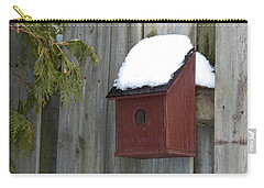 A Birdhouse To Live In Carry-all Pouch