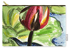 Carry-all Pouch featuring the painting A Birth Of A Life by Harsh Malik