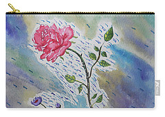 A Bit Of Whimsy Carry-all Pouch by Carol Crisafi