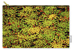 A Botanical Mosaic Carry-all Pouch