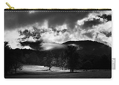 A Break In The Clouds In Black And White Carry-all Pouch