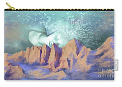 Carry-all Pouch featuring the painting A Breath Of Tranquility by S G