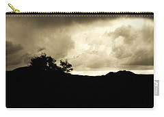 A Brewing Storm Carry-all Pouch by Nature Macabre Photography