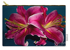 A Bunch Of Beauty Floral Carry-all Pouch