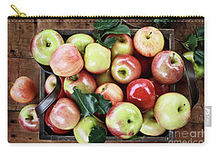 A Bushel Of Apples  Carry-all Pouch by Stephanie Frey