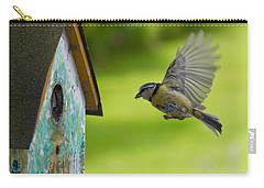 A Busy Blue Tit Mum Carry-all Pouch