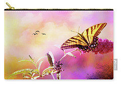 A Butterfly Good Morning Carry-all Pouch