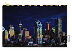 Carry-all Pouch featuring the photograph A Calgary Sunrise by Brad Allen Fine Art