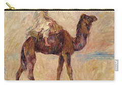 A Camel Carry-all Pouch by Pierre Auguste Renoir
