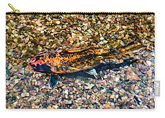 A Captive Koi Carry-all Pouch by Stan  Magnan