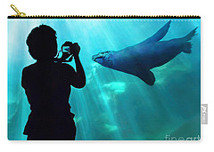 A Captured Moment  Carry-all Pouch by Jennie Breeze