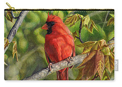 A Cardinal Named Carl Carry-all Pouch