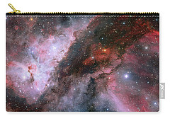 Carry-all Pouch featuring the photograph A Carina Nebula Pano by Nasa