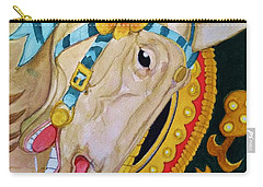 A Carousel Horse Carry-all Pouch
