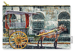 A Carriage In Intramuros, Manila Carry-all Pouch