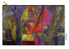 A Celebration Of Her Performance Painting By Lisa Kaiser Carry-all Pouch