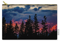 Carry-all Pouch featuring the photograph A Chance Of Thundershowers by Albert Seger