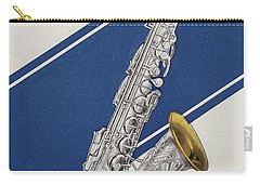 A Charles Gerard Conn Eb Alto Saxophone Carry-all Pouch by American School