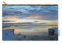 A Chilly View Carry-all Pouch by Greta Larson Photography