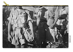 Carry-all Pouch featuring the painting A Chinese Nationalist Soldier by Artistic Panda