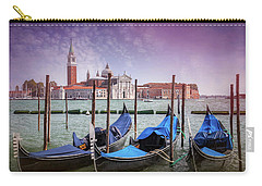 A Classic View Of Venice Italy  Carry-all Pouch