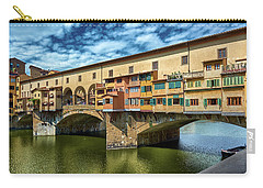 A Closer Look To Ponte Vecchio Carry-all Pouch