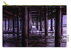 A Cloudy Day Under The Pier Carry-all Pouch