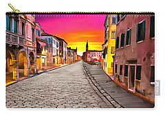 A Cobblestone Street In Venice Carry-all Pouch
