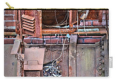 Carry-all Pouch featuring the photograph A Collaboration Of Rust by DJ Florek